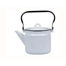Чайник СТАЛЬЭМАЛЬ 2,0л серо-голубой