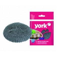 Губка для посуды YORK Maxi металлическая
