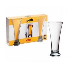 Набор бокалов для пива PASABAHCE Pub 3шт. 300мл