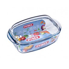 Кастрюля-утятница PYREX Essentials 4,5 л прямоугольная