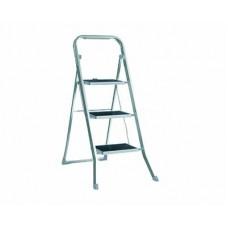 Стремянка алюминиевая EUROGOLD Step 3 ступ. резиновая накладка