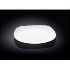 Тарелка обеденная WILMAX 25,5см квадратная