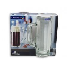 Набор кружек для пива LUMINARC Hamburg 2шт 500мл