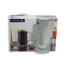 Набор кружек для пива LUMINARC Dresden 2шт 330мл