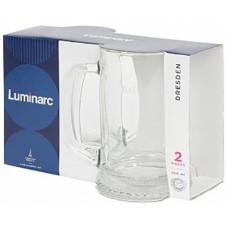 Набор кружек для пива LUMINARC Dresden 2шт 550мл