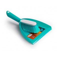 Комплект для уборки AKOR Elite Lazio совок+щетка-сметка бирюз.