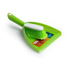 Комплект для уборки AKOR Elite Lazio совок+щетка-сметка салат.