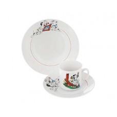 Набор посуды ДФЗ 3пр.(200,170,200) ф.653 идиллия Далматинцы