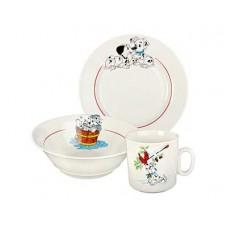Набор посуды ДФЗ 3пр.(360мл,170мм,200мл)ф.653 идиллия Далматинцы