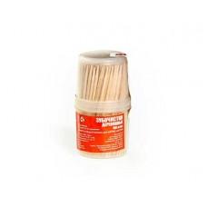 Зубочистки HomeQueen деревянные в баночке 180 шт.