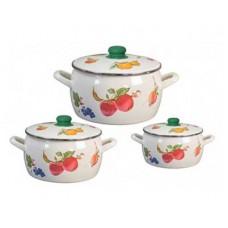 Набор посуды МЕТРОТ 2413 Фрукты 6 предметов