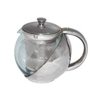 Чайник заварочный 500мл с фильтр. для заварки, жаропр. ст./нерж.$