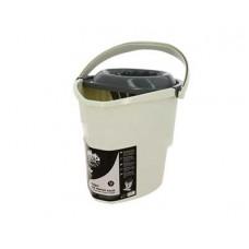 Ведро для мытья пола EXTRA-Shine 5000 12л МОП с корзиной для отжима швабры
