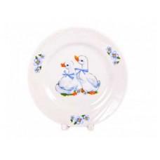 Тарелка ДФЗ 175мм ф.426 голубка Гусята