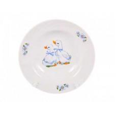 Тарелка ДФЗ 200мм/230мл ф.426 голубка Гусята