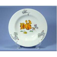 Тарелка ДФЗ 200мм/250мл ф.653 идиллия Кошки-мышки
