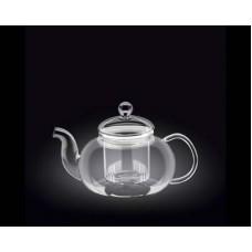 Чайник заварочный WILMAX Thermo  770мл стекл. фильтр