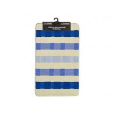 Комплект ковриков L'CADESI Marathon 60х100/50х60см block to block синий