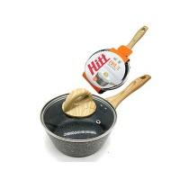 Ковш HITT Brut 1,5 л 16х7,4 см ст. кр. индукция