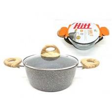 Кастрюля HITT Brut 2,5 л 20х8,3 см ст.кр. индукция