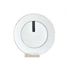 Тарелка десертная КОРАЛЛ Снежная королева/з 16,5 см ф.круг
