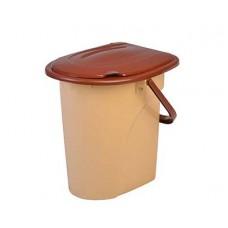 Ведро-туалет ELFPLAST 22л с крышкой