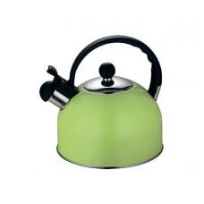 Чайник HITT Colorfest 2,5л со свистком свежий лайм