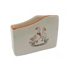 Подставка для губки PRIMA COLLECTION Два веселых гуся