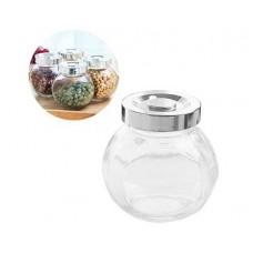 Набор банок для сыпучих продуктов 3шт. стекло, сталь $