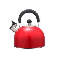Чайник HITT Rondo Plus 2,5л со св., капсул. дно, красный