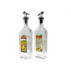 Бутылка для подсолн.масла LARANGE 0,5л с дозатором стекло