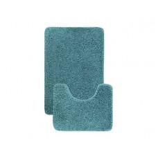 Комплект ковриков L'CADESI Alya 50x80см/50x40см бирюзовый