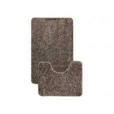 Комплект ковриков L'CADESI Alya 50x80см/50x40см коричневый