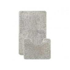 Комплект ковриков L'CADESI Alya 50x80см/50x40см серый