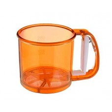 Кружка-сито HITT Colorfest спелый апельсин