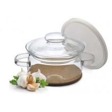 Кастрюля SIMAX Classic Gourmet 1,5л с пласт. кр. + подст. под горячее