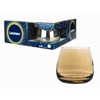 Набор стаканов низких LUMINARC Золотой мёд 4шт 300мл
