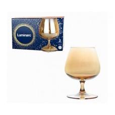 Набор бокалов для коньяка LUMINARC Золотой мёд 2шт 410мл
