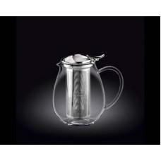 Чайник заварочный WILMAX Thermo  850мл нерж. фильтр