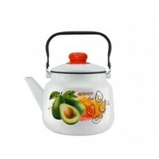 Чайник ЭМАЛЬ 3,5л Авокадо