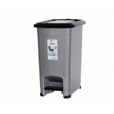 Контейнер для мусора с педалью ELFPLAST Slim 15л