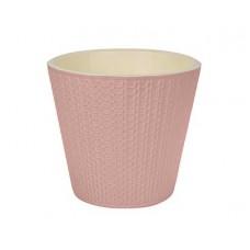 Горшок для цветов Velvet D160мм 1,6л светло-розовый