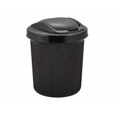 Контейнер для мусора SVIP Ajur 12,0л венге