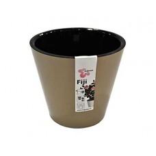 Горшок для цветов INGREEN Фиджи D160мм 1,6л шоколадный