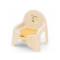 Стульчик детский ПОЛИМЕРБЫТ Giraffix туалетный