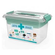 Контейнер для аптечки ПОЛИМЕРБЫТ Smartbox М 6,0л домашний