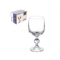 Набор бокалов для вина CRYSTALITE BOHEMIA Sterna/Klaudie 190мл (1/6 шт)