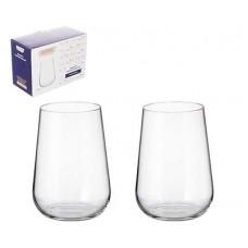 Набор стаканов для воды CRYSTALITE BOHEMIA Ardea/Amudsen 470мл (1/2шт)