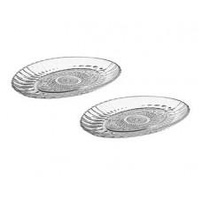 Набор тарелок овальных PASABAHCE Konya 220х156vм 2шт