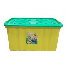Ящик для игрушек ПОЛИМЕРБЫТ 600х400х300мм на колесах